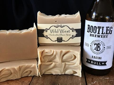 Wild West Beer Soap