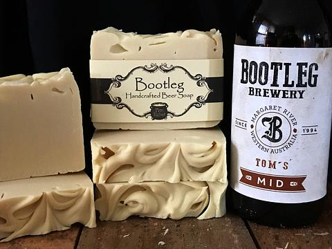 Bootleg Beer Soap