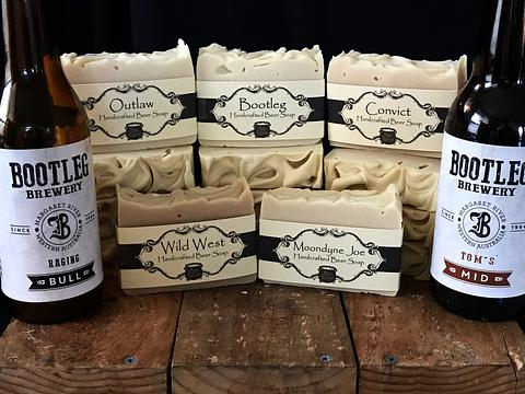 6 Pack Beer Soap